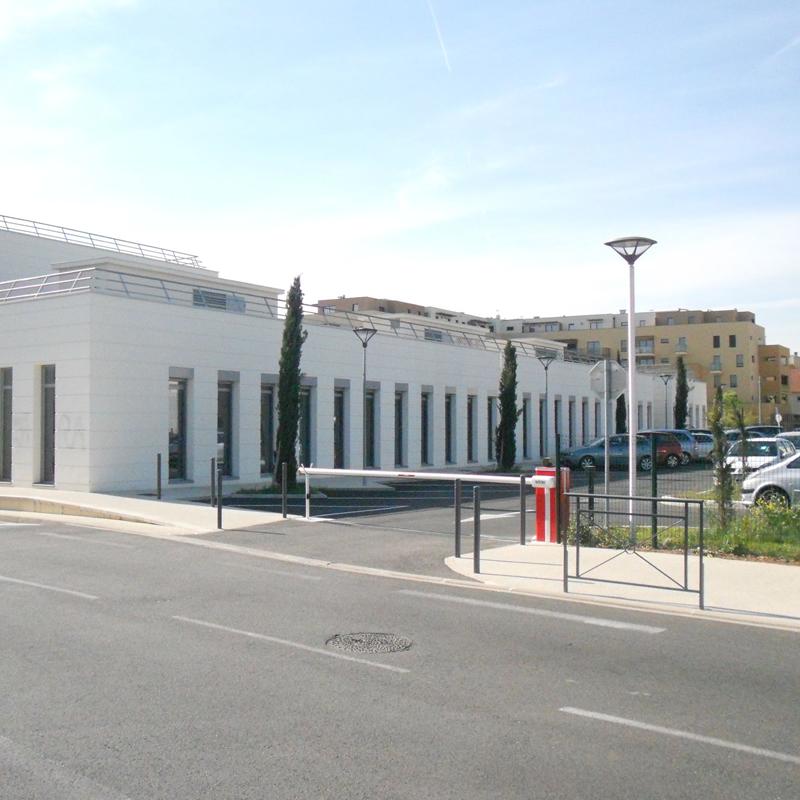 Vue de la rue IFSI Montélimar