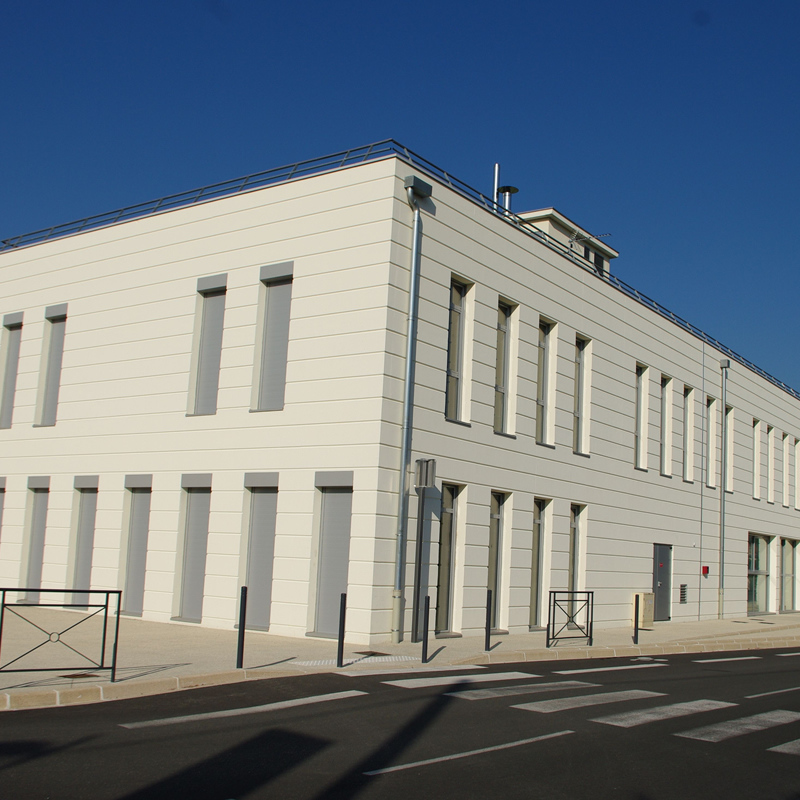 Façade extérieure IFSI Montélimar