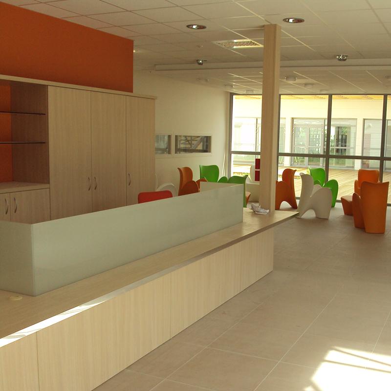 Hall intérieur IFSI Montélimar