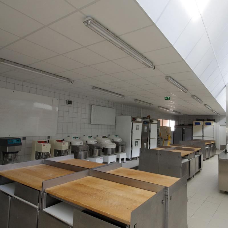 Laboratoire de travail du CFA BTP Haute-Loire de Bains