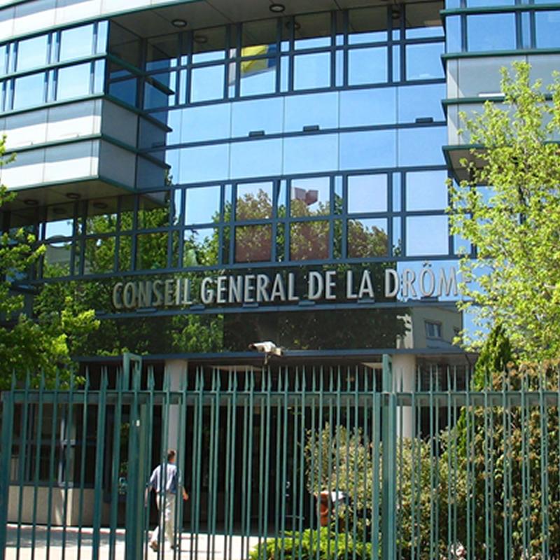 Conseil Départemental Drôme SORHA