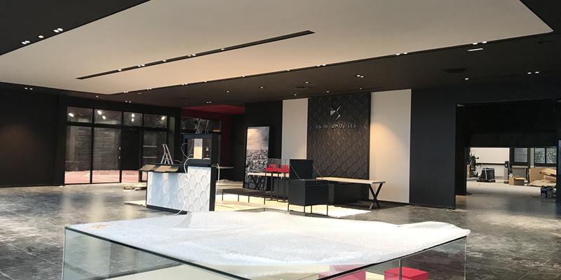 Vue d'ensemble du hall d'accueil DS Store Valence