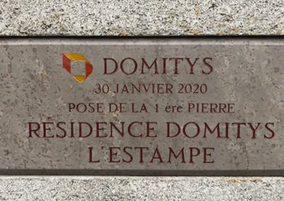 residence domitys estampe agence architecture sorha valence drôme