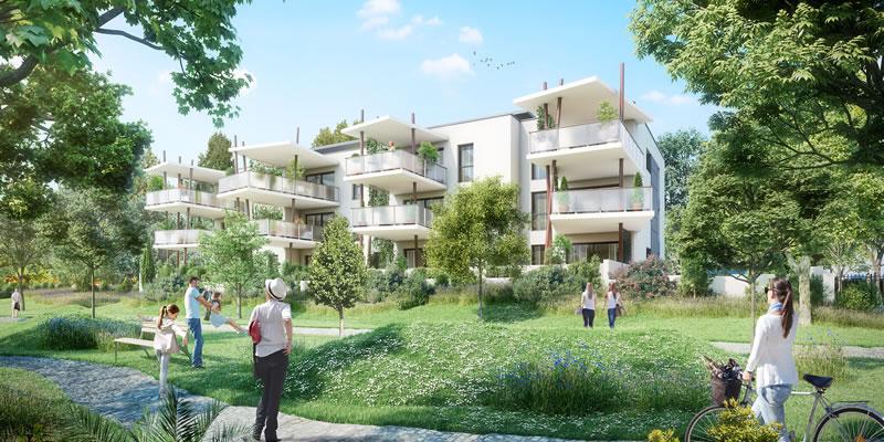 vue pierrelatte residence boissier agence architecture sorha valence drôme