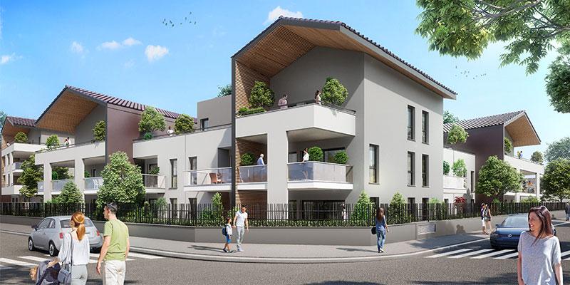 EKO PARC Valence -terrasse