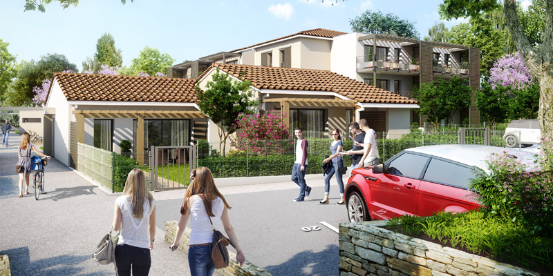 residence estrella etoile sur rhone  agence architecture sorha valence drôme